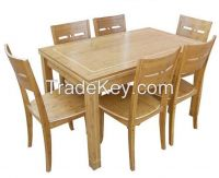 bamboo furniture, dinner tables