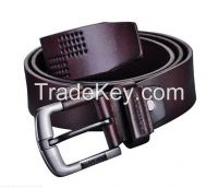 Fashion Embossed Real Leather Belts for Mens (YD-15102)