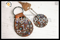 Top cowhide key chains