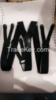 2.5CMS High quality PU Elastic  Suspender For Garments