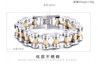2016 Hot sale high qulaity stainless stell bracelet for men