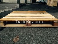 Pallet wood, wooden pallets