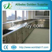 laboratory bench wall mounted bench