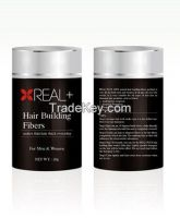 REAL PLUS Hair Building Fibers /Instantly gives the appearance of thicker, fuller hair.