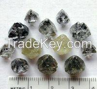 ROUGH and uncut diamonds