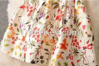 Imitation silk jacquard fabric