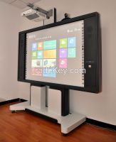 6002 Series 85 inch movable all-in-one optical Interactive whiteboard learning system for meeting room