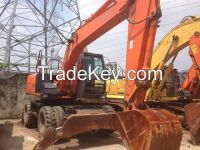 Used Hitachi Excavator 130WD-7