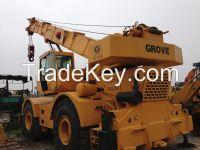 Used Grove Truck Crane RT750