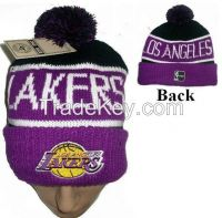 JACQUARD ACRYLIC KNITTED HATS WITH EMBROIDERY, SPORTS CAPS