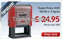 Custom Trodt Printy 4929 Rubber Stamp
