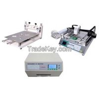 SMT Production Line, Equipped with PnP Machine/Reflow Oven/Stencil Printer