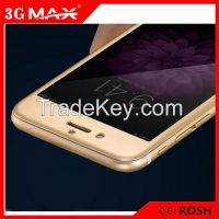 Titanium Alloy full coverage curved edge tempered glass screen protect