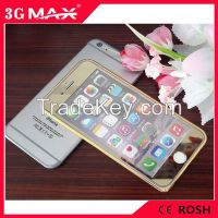 Front & Back Electroplating Mirror Effect Colorful Tempered Glass Scre