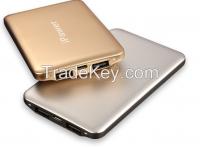 Hot Selling Lithium Polymer Ultra Thin Portable Power Bank 20000mAh