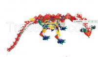 Electric Building Blocks Educational Toys Genius Construction Dinosaur