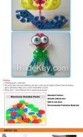 2015 New Sale Genius Cartoon Building Blocks Plastic Educational Baby