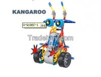 New Assembl Plastic Kids Toy Diy Robots Model Building Kit Educat