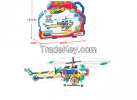 HOT Sale Helicopter Model Kits Construction Building Blocks Sets Educa