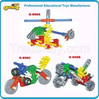 Promotional Gift Children Desgin Construction Building Blocks Genius E