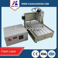 multi head 4 axis mini pcb cnc milling machine 3040