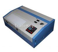 mini laser engraving machine/ 40W desktop engraver laser engraving/laser graving mashine with Moshi Draw