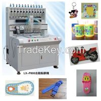 2016 Automatic Dripping Machine for art products keychain, USB drive, label