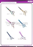 Thinning scissors, Salon scissors