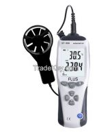 Digital Handheld  Anemometer Air Wind Speed with temperature sensor