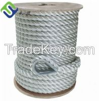 Polypropylene rope nylon