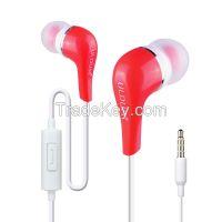 Wholesale factory fashion plastic in ear earphone