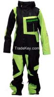 Reflective Ski One Piece Ski Suit