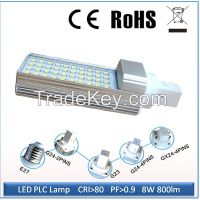 LED PL lamp replce CFL lamp in the downlight G24 G23 E27