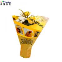 Hot Sale Customized colorful Christmas Day Flower Bouquet Sleeves