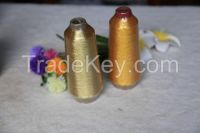 embroidery thread ST type silver metallic sparkle yarn knitting yarn