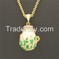 Faberge Egg Pendant Locket