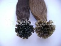 Clip-in. i-tip. u-tip of remy human hair from Vietnam