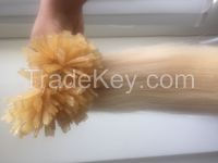 Remy Human Blond Straight Hair (Color #613)