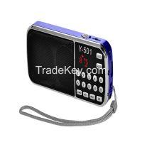 Export hot sell portable digital am fm radio