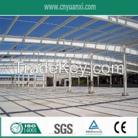 steel structure building with unbelievable stength