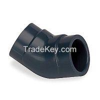 GF PIPING SYSTEMS 817005 Elbow 45 Deg 1/2 In Slip Socket PVC
