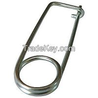 APPROVED VENDOR 2WZV5 Safety Pin Zinc 0.047x15/16 L Pk25