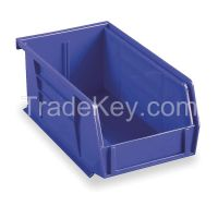 AKRO-MILS 30220BLUE F8647 Hang/Stack Bin 7-3/8 x 4-1/8 x 3 Blue