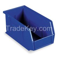 AKRO-MILS 30230BLUE F8657 Hang/Stack Bin 10-7/8 x 5-1/2 x 5 Blue