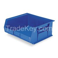 AKRO-MILS 30250BLUE F8696 Hang/Stack Bin 7x16 1/2x14 3/4 Blue
