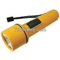 WESTWARD 6AHC0 Industrial Flashlight Incandescent D