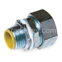 RACO 3512RAC  Insulated Connector 1/2 In. Straight