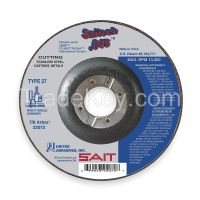 UNITED ABRASIVES-SAIT Abrsv Cut Whl, 4-1/2 Dx0.045In T, 7/8In AH