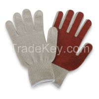 CONDOR 4NGZ3 D1449 Knit Glove Poly/Cotton Men's XL PR