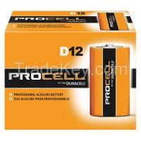 DURACELL PC1300 Battery Alkaline D size PK 12